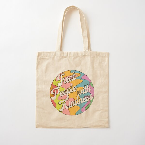 Groovy Treat 'Em With Kindness Design Tote bag classique