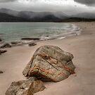 Rain Approaching at Wineglass Bay by Jim Lovell