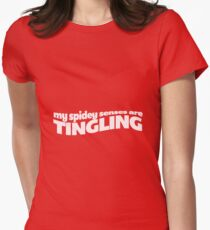 my spidey senses are tingling! Women's Fitted T-Shirt