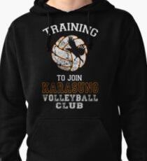 Sudadera con capucha Entrenamiento para unirse al Karasuno Volleyball Club