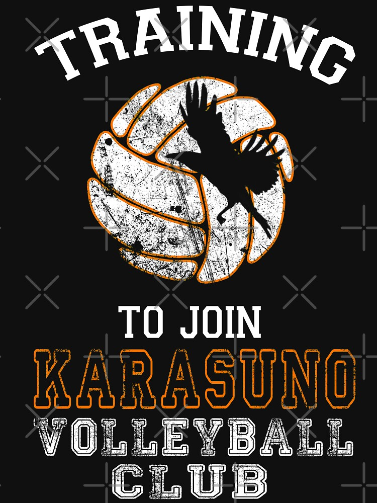 Training to join Karasuno Volleyball Club | Unisex T-Shirt