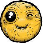 """FUglymojis - """"Winking Emoji"""" by freshandugly"""