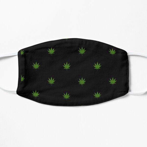 Weed pattern Flat Mask