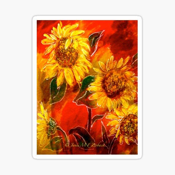 Sunflowers..... Sticker