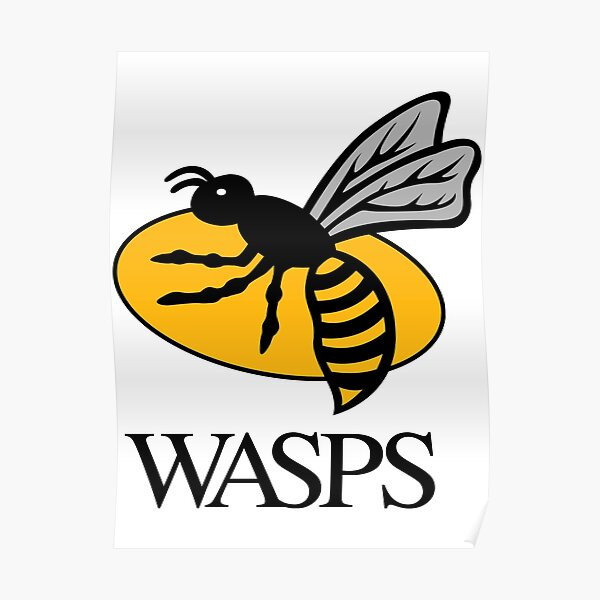 Wasps Rugby Posters Redbubble