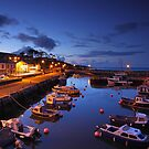 Night Photography- Carnlough by Fred Taylor
