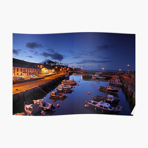 Night Photography- Carnlough Poster