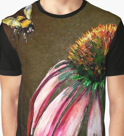 The Bee and the Flower  Graphic T-Shirt
