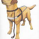 Guide Dog by CherylTDesigns