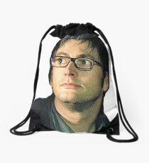 David Tennant Drawstring Bag