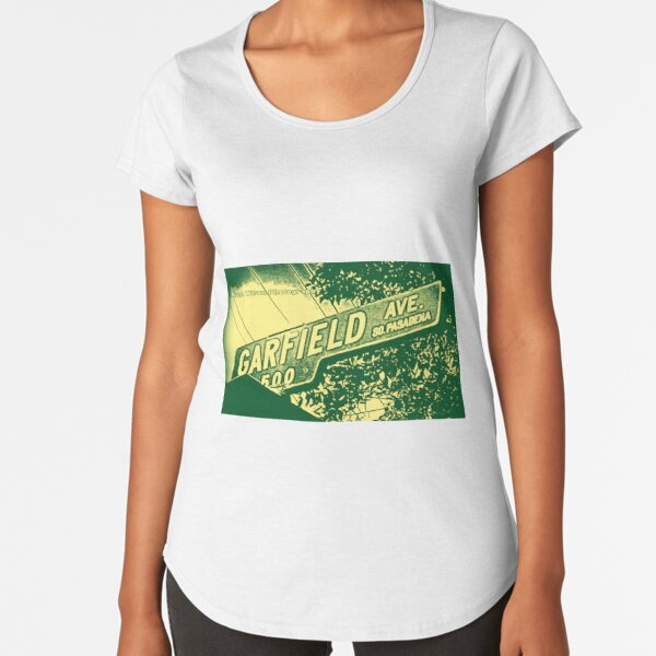Garfield Avenue, South Pasadena, CA by Mistah Wilson Premium Scoop T-Shirt