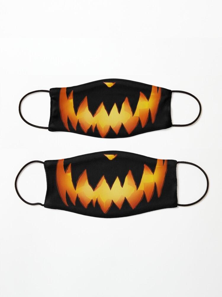 Alternate view of Smiling Pumpkin Mask
