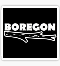 Boregon Logo  Sticker