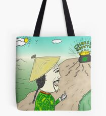 Chinese Growth comic strip panel Tote Bag