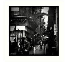 Melbourne Laneways Art Print