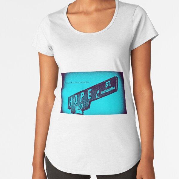 Hope Street, South Pasadena, CA by Mistah Wilson Premium Scoop T-Shirt