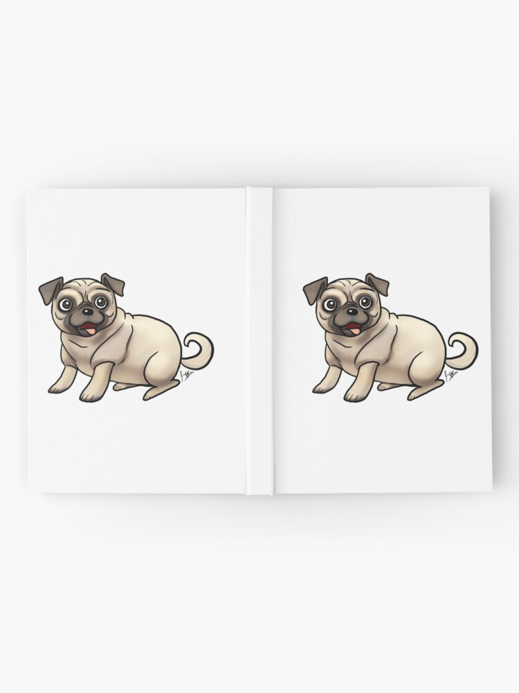 Alternate view of Pug - Fawn Hardcover Journal