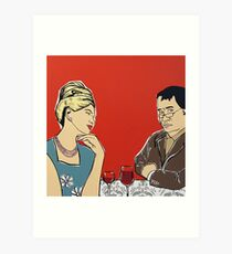 Waiting for Food (First World Problem) Art Print