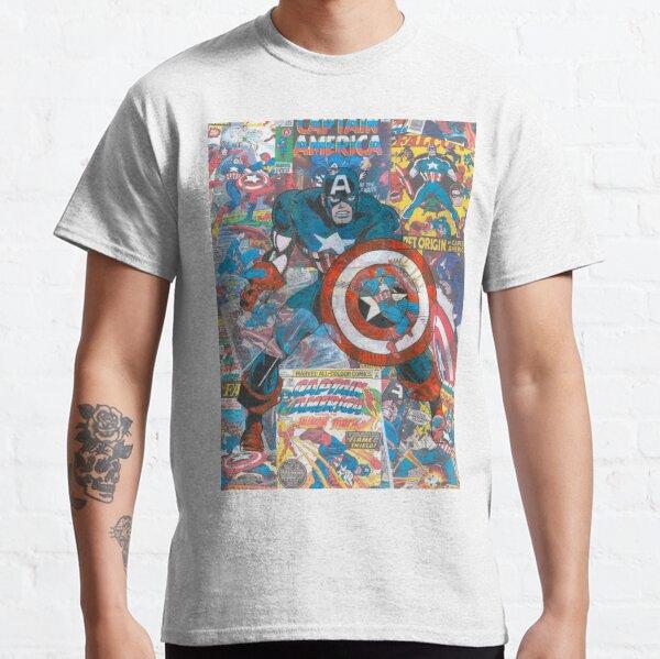 Vintage Comic Capt America Classic T-Shirt