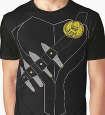 Evil Bird Assasin Costume Graphic T-Shirt