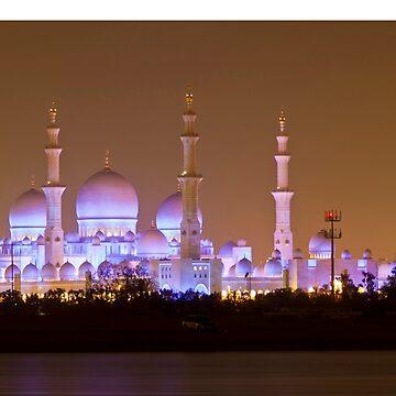 The Sheikh Zayed Grand Mosque, abu dhabi by shaun965