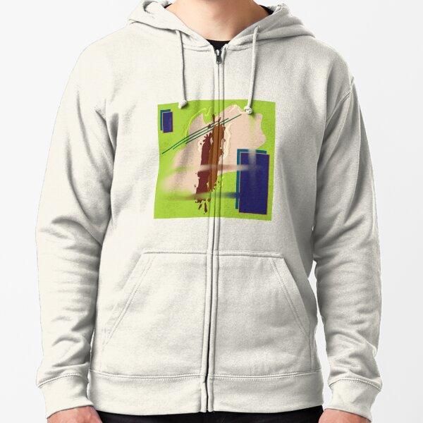 Chartreuse Veste zippée à capuche