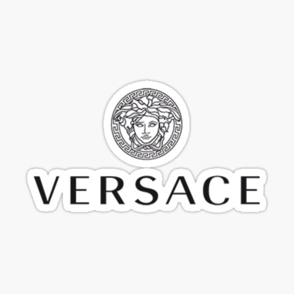 versace logo Sticker