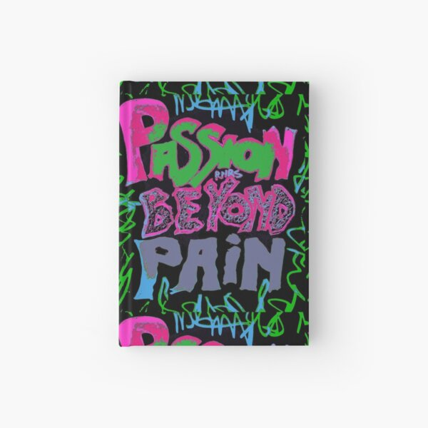 PASSION BEYOND PAIN Hardcover Journal
