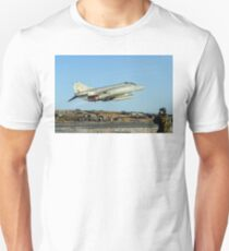 McDonnell F-4M Phantom FGR.2 XV495/N taking off on CAP Unisex T-Shirt