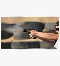 pistol shooting   Poster