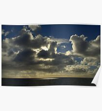 View of Gulf St. Vincent from Hallett Cove Poster