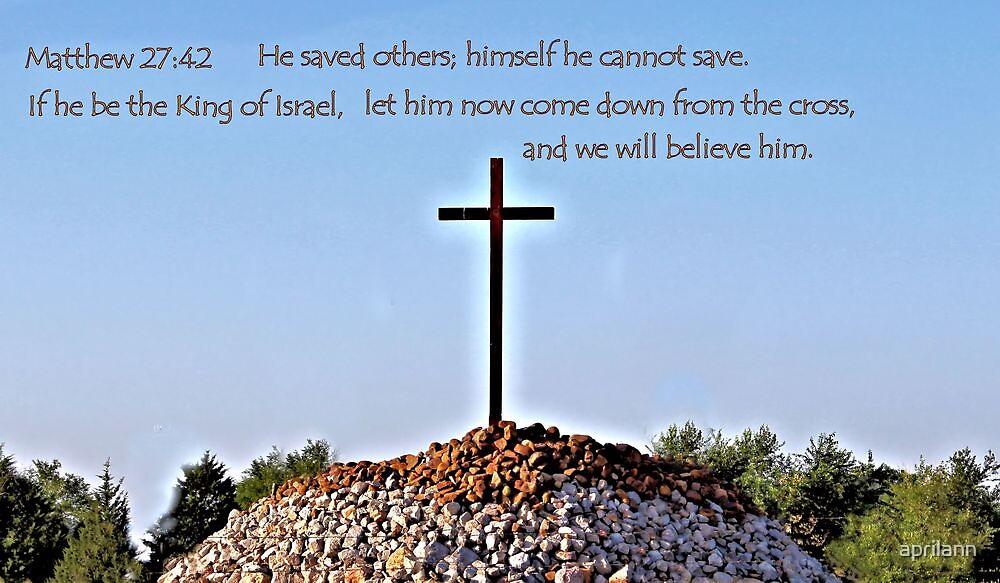 We will believe him by aprilann