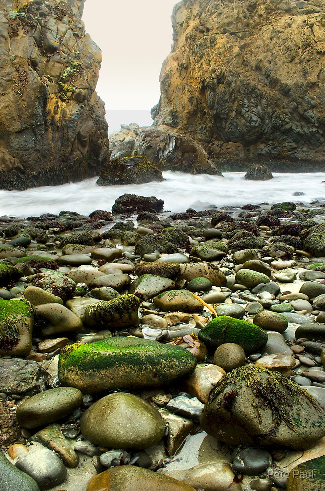 Beach, Julia Pfeiffer State Park, Big Sur, California by Pete Paul