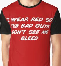 I Wear Red Graphic T-Shirt