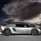 Exige - painted with light - 1 of 2 by AllshotsImaging