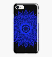 ozorahmi blue mandala iPhone case iPhone Case/Skin