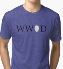 What would Omar do? Tri-blend T-Shirt