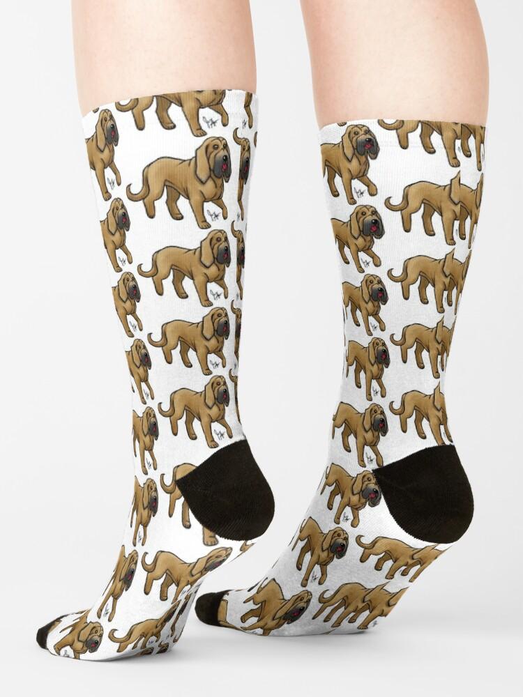 Alternate view of Bloodhound - Red Socks