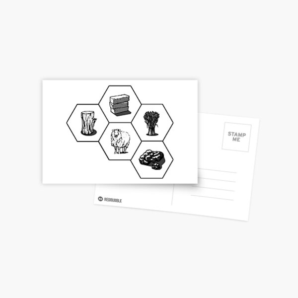 BNW All Resources Postcard