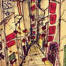 Chinatown by Pavitchaya