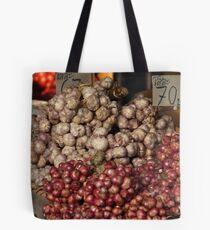Onions and Garlic Tote Bag