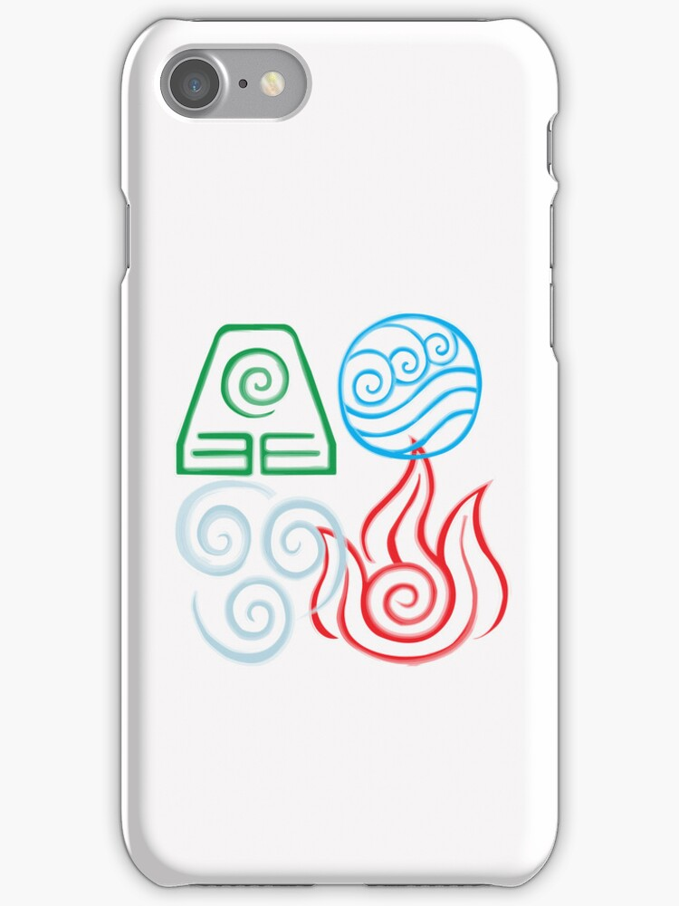 The bending element iphone/ipod case by Brittany  Collins