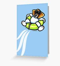 Cool Dog Beagle Greeting Card