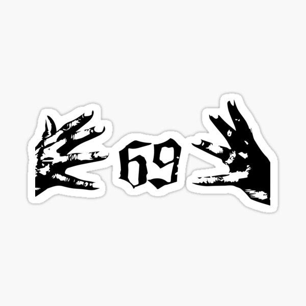 snitch, snoop dogg, tekashi 69 sixnine 2020 Pegatina