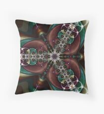 Chained Marble II Throw Pillow