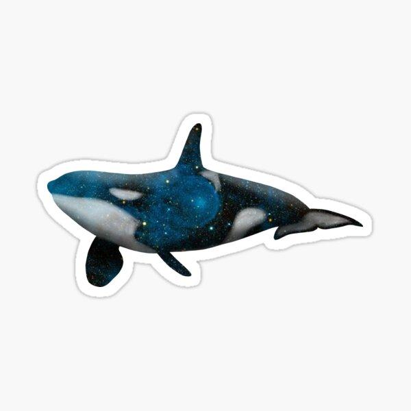 Galaxy Orca Sticker