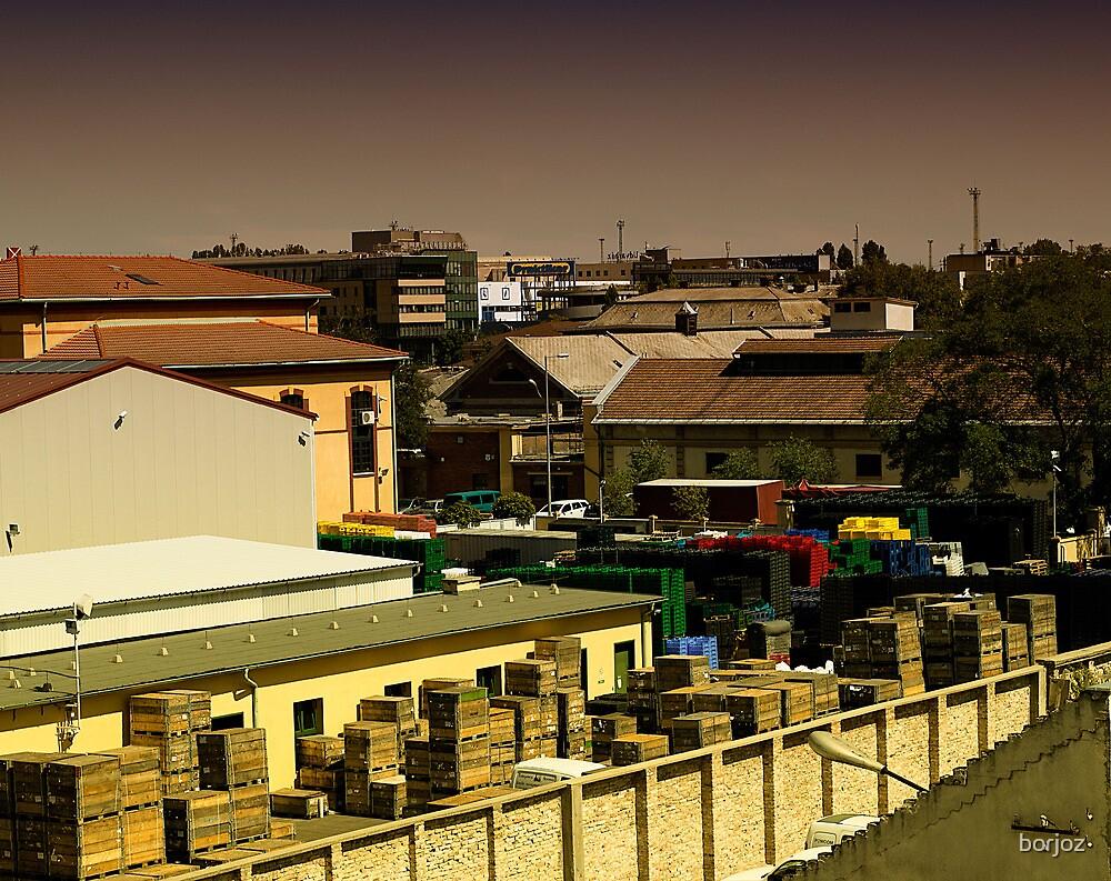 Boxes like Legos by borjoz