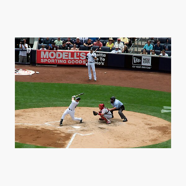 Foul Ball Photographic Print