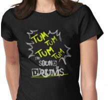 DRUMS Womens Fitted T-Shirt