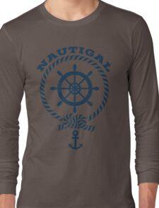 Nautigal Nautical T Shirt Long Sleeve T-Shirt